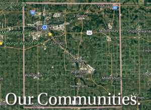 Enjoy living here and working here in Elkhart County Indiana.